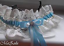 - Svadobný podväzok pre nevestu - 9654729_