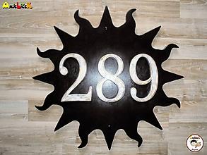 Tabuľky - Číslo na dom - slnko - 9654306_
