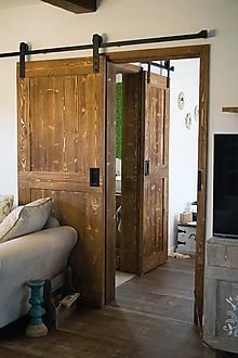 Nábytok - Vidiecke posuvné dvere - H - 9653129_