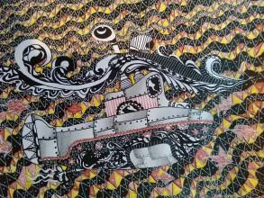 Kresby - Ponorka..... - 9652919_