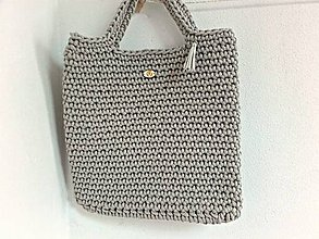 Veľké tašky - STYLE BAG svetlá béžová - 9651954_