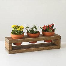 Dekorácie - Stojan na kvetináče - 9652668_
