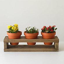 Dekorácie - Stojan na kvetináče - 9652720_
