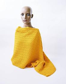 Iné oblečenie - pletené pončo - 9653481_