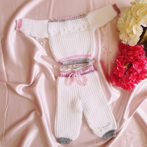 Detská štrikovaná súprava pre bábätko na mieru Dyona