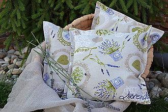 Úžitkový textil - Vôňa levandule a bazalky - 9653295_