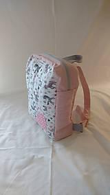Detské tašky - Ružový detský batoh s jednorožcom - 9653512_
