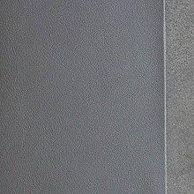 Suroviny - Exkluzívna koža - 15x15 cm metalická antracit - 9652321_