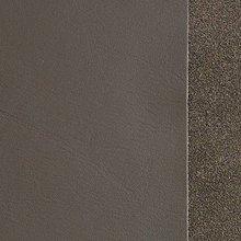 Suroviny - Exkluzívna koža - 15x15 cm tmavo šedá - 9652333_