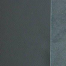 Suroviny - Exkluzívna koža - 15x15 cm šedá - 9652348_