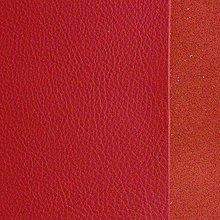 Suroviny - Exkluzívna koža - 15x15 cm červená - 9652362_