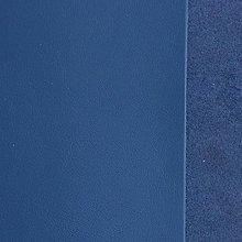 Suroviny - Exkluzívna koža - 15x15 cm modrá - 9652366_