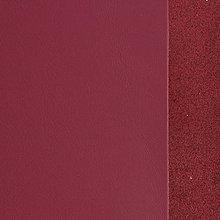 Suroviny - Exkluzívna koža - 15x15 cm malinovo červená - 9652369_