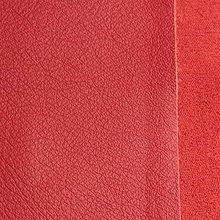 Suroviny - Exkluzívna koža - 21 x 23 cm červená - 9652506_