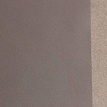 Suroviny - Exkluzívna koža - 21x23 cm šedo hnedá tmavá - 9652526_