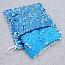 Detské doplnky - Nepremokavé vrecko na plienky/plavky