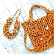 Veľké tašky - Bag&neklace sada - 9654982_