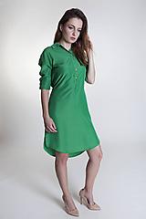 Šaty - Košelové šaty Green - 9657489_