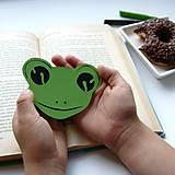 Žabka do knižky...