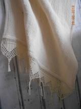 """Úžitkový textil - """"S nádychom nostalgie"""" ľanový uterák - 9656762_"""