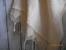 """Úžitkový textil - """"S nádychom nostalgie"""" ľanový uterák - 9656763_"""