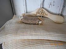 """Úžitkový textil - """"S nádychom nostalgie"""" ľanový uterák - 9656773_"""