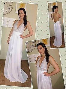Šaty - Svatební, společenské šaty.... - 8299954_