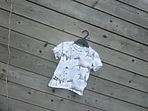Detské oblečenie - Tričko s koníkmi - biele - 9657584_