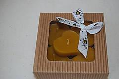 Svietidlá a sviečky - Plávajúce srdiečka - 9657816_
