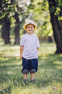 Detské oblečenie - Chlapčenské tričko ROBOT - 9657889_