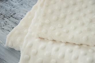 Textil - Minky ivory - 9655047_