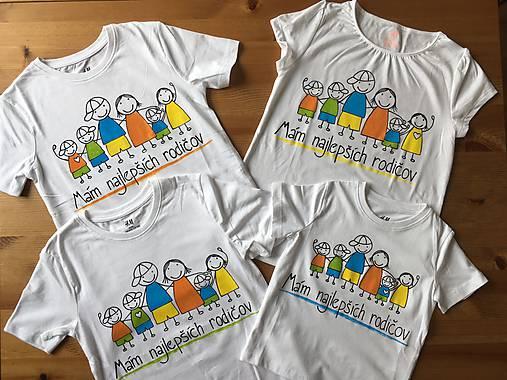 b37818f33899 Originálne maľované tričká pre celú rodinu (Detské tričko body s nápisom