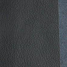Suroviny - Exkluzívna koža - 7x7 cm tmavo modrá - 9655014_