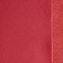 Suroviny - Exkluzívna koža - 21 x 23 cm červená žiarivá - 9655019_