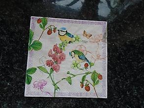 Papier - vtáčiky - 9655802_
