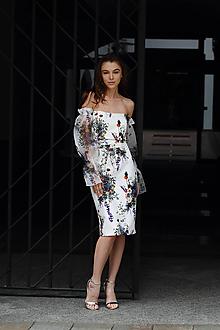 Šaty - Šaty na bielej lúke - 9659791_