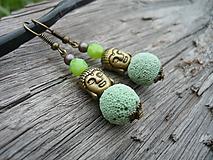 - ZĽAVA - VÝPREDAJ :) Náušnice Fresh Budha - 9660792_