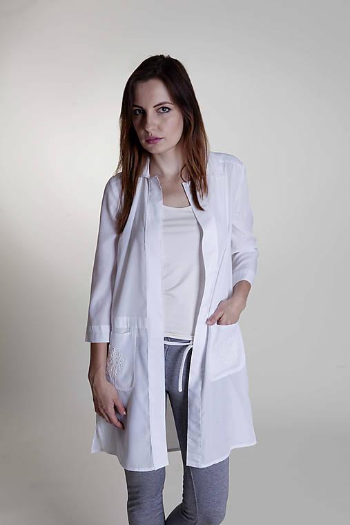 Dámsky košeľový kabátik   Rencissa - SAShE.sk - Handmade Košele 2a6cd63a04e