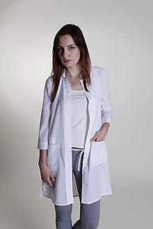 Košele - Dámsky košeľový kabátik - 9658227_