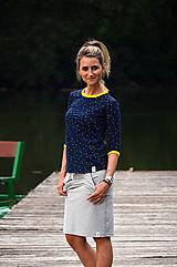 Tričká - Tričko s puntíky - 9659666_