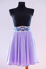 - Vyšívaná sukňa na zákazku - 9659958_