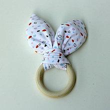 Hračky - Drevené hryzátko pre bábätko Minimalist - 9660927_