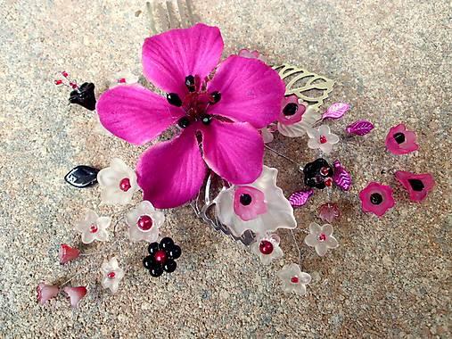 a731897b4771 Hrebienok - cyklámenový kvet   Tajanna - SAShE.sk - Handmade Ozdoby ...