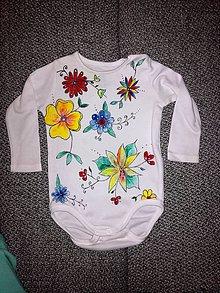 Detské oblečenie - Kvety - 9658683_