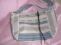 Veľké tašky - Taška- ľanová - 9658284_