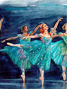 """Obrazy - Reprodukcia obrazu """"Baletky"""" - 9660866_"""