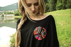 Tričká - Tričko na zaväzovanie Awa - 9660330_