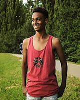 Oblečenie - Pánske tričko bez rukávov Aicha - 9660404_