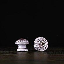 Nábytok - Úchytka - knopka rustik - vzor č. 4 malá - 9657949_