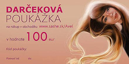Darčekové poukážky - Darčeková poukážka 100€ - 9659778_